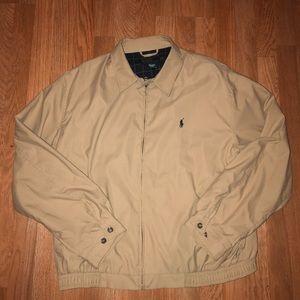 Polo Ralph Lauren khaki jacket size XL